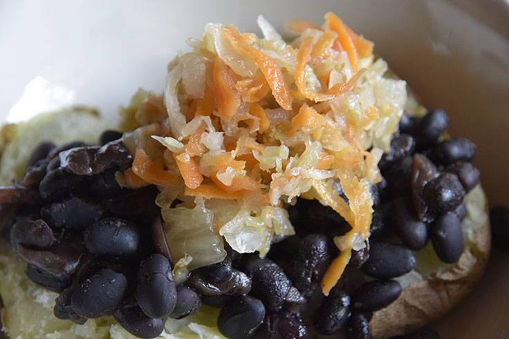 fermented-napa-cabbage-w-black-beans