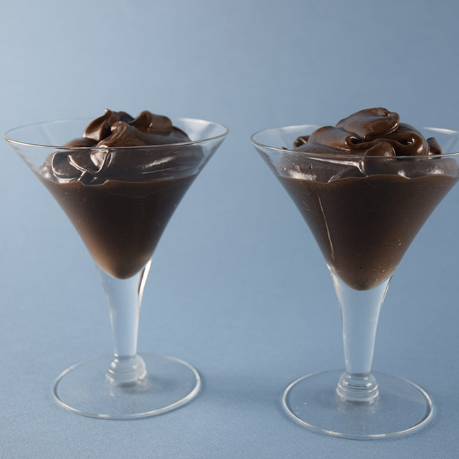 Chocolate Aquafaba Mousse