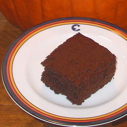 Chocolate Pumpkin Snack Cake