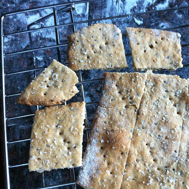Chia-Seed Crackers