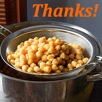 Thanks for taking the Chickpea Strategies class!