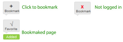 book mark symbols on Cook for Good