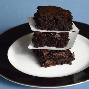 best vegan cocoa brownies