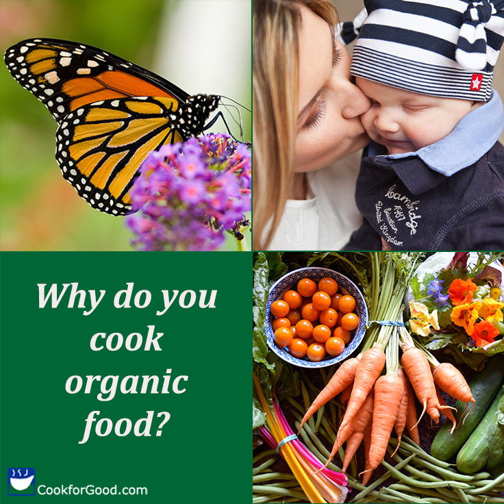 Why Cook Organic Food?