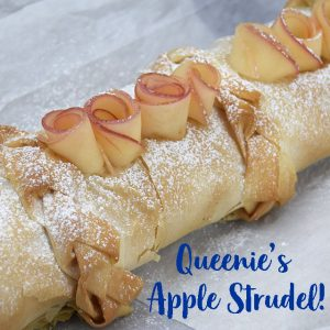 Queenie's Apple Strudel