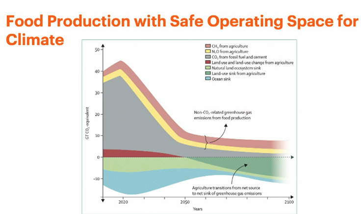 EAT-Lancet food production safe operating space