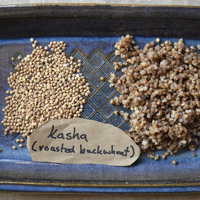 Kasha (Toasted Buckwheat Groats)