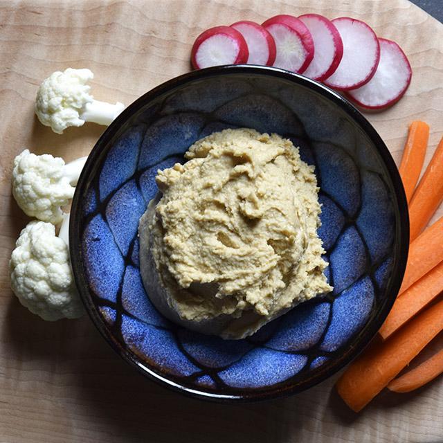 Win-Win-Win Hummus
