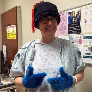 Linda Watson graduates from radiation treatment
