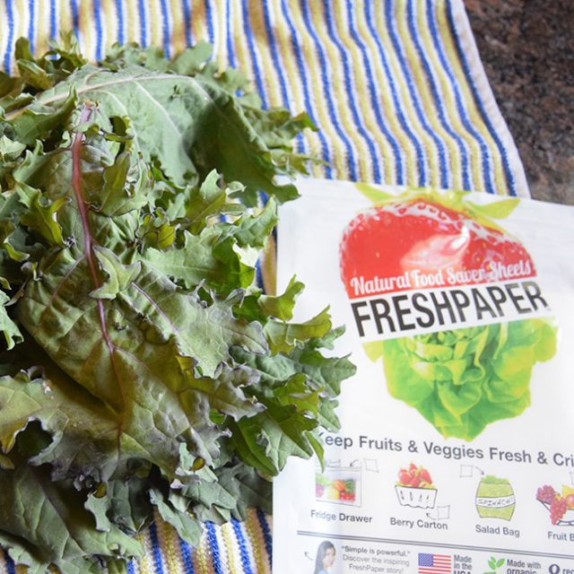 FreshPaper and kale