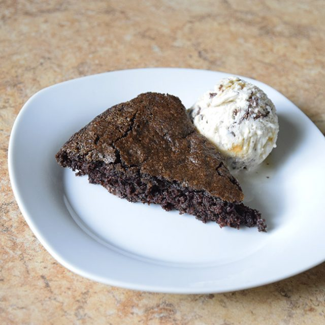 Candy-Bar Brownie Pie with Nicecream