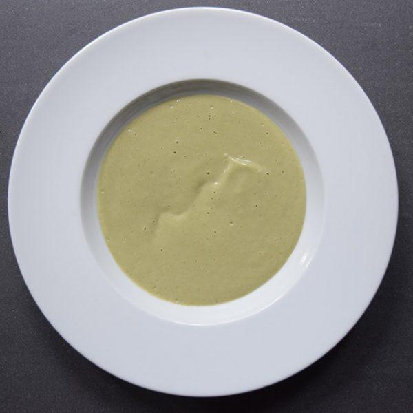 Green bean velvet soup