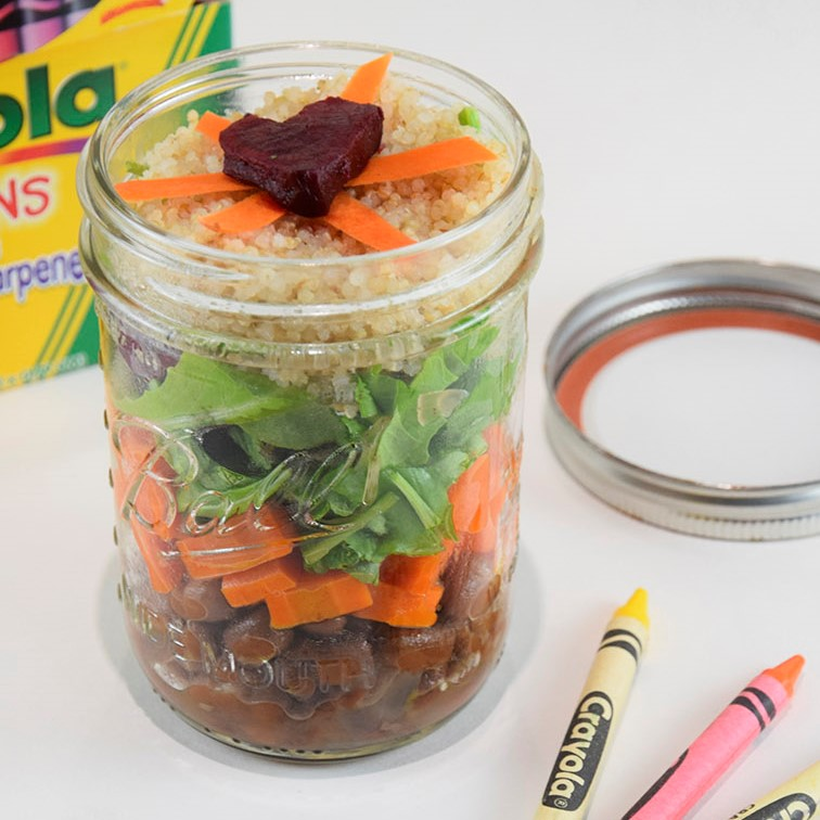 Power Jars for Grab-and-Go Lunches (with video)